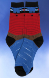 Red Lighthouse Socks
