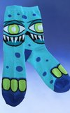 Mr. Blue Cyclops Socks