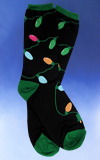 Women's Christmas Lights Socks