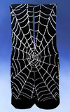 Glow in the Dark Spider Web Socks