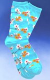 Spring Budding Flowers Socks