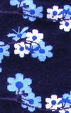 Blue Flowers Socks