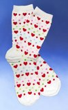 Hearts and Dots Socks