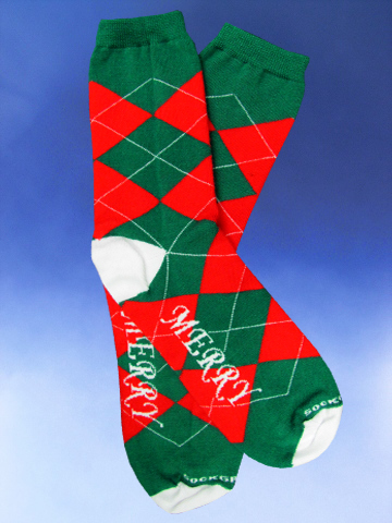 Women's Merry, Merry Christmas Socks