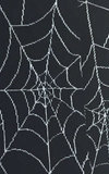 Black Spooky Spider Web Knee-Highs