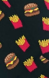 Men's Burger and Fries Socks