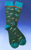Men's Fishing Lures Socks