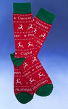 Men's Reindeer Names Socks