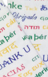 Men's Thank You in Every Language- White