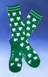 Men's White Clovers Socks