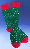 Men's String of Christmas Lights Socks