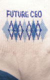 Children's Blue Future CEO Socks