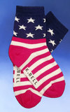 Children's American Flag Socks