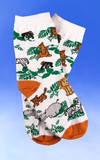 Children's Zoo Animals Socks