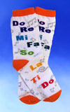 Children's Do Re Mi Socks