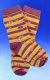 Children's Easter Pattern Socks