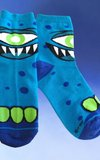 Kid's Mr. Blue Cyclops Socks