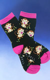 Kid's Monkey Mania Socks