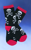 Kid's Jolly Roger Pattern Socks