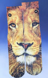 Children's Lion Face Socks