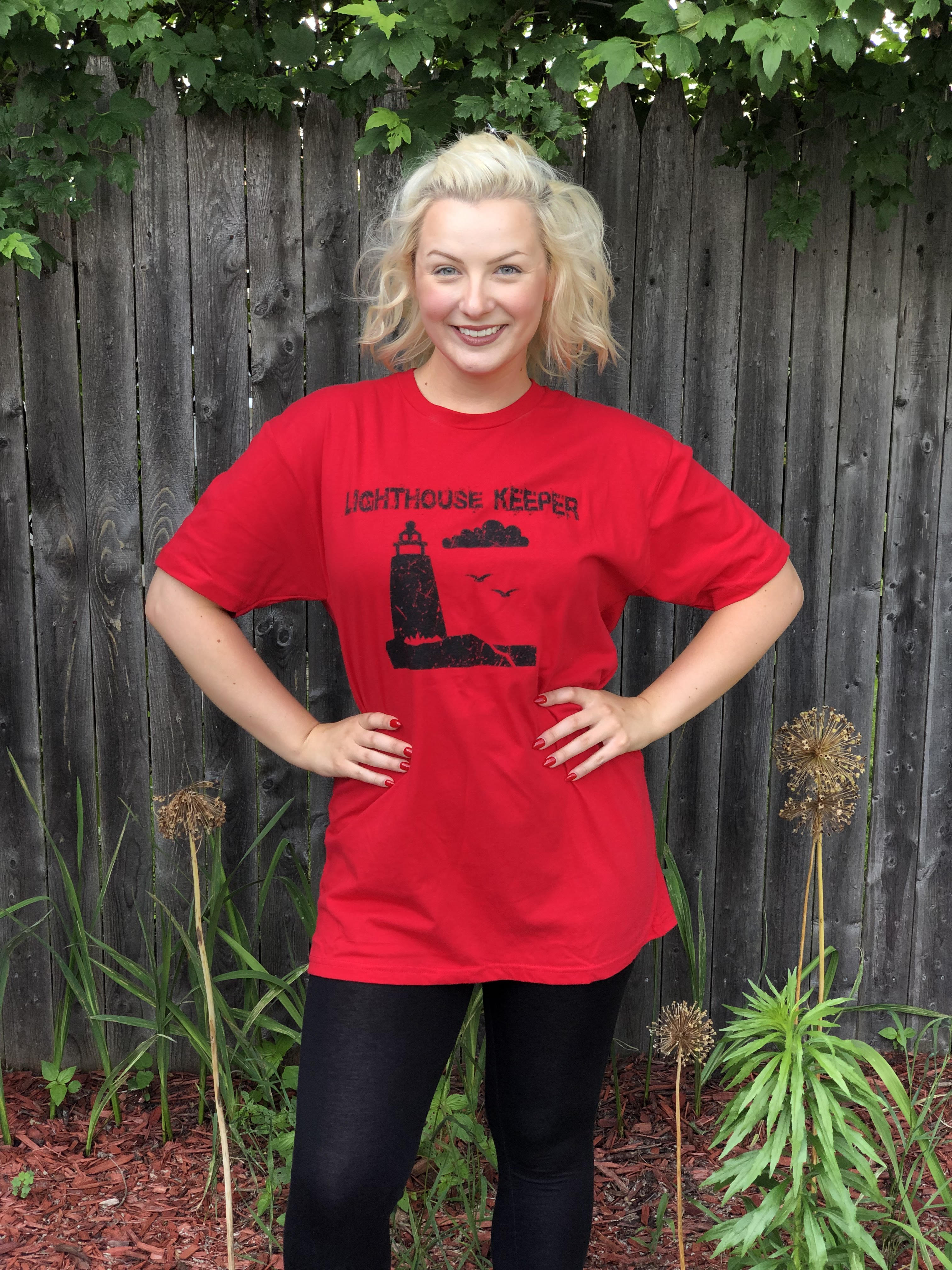Red Lighthouse Keeper T-Shirt