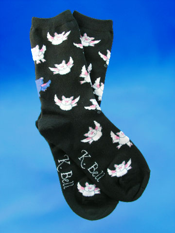Madame Fortune Teller Socks - Click Image to Close