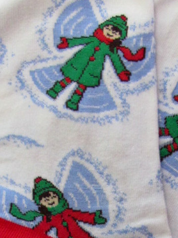 Making Snow Angels Socks - Click Image to Close