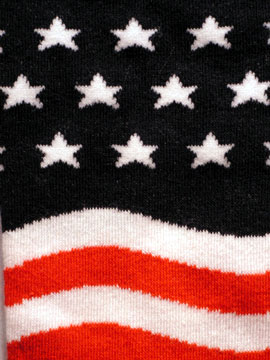 Women's Grand Ol Flag Sock - Click Image to Close