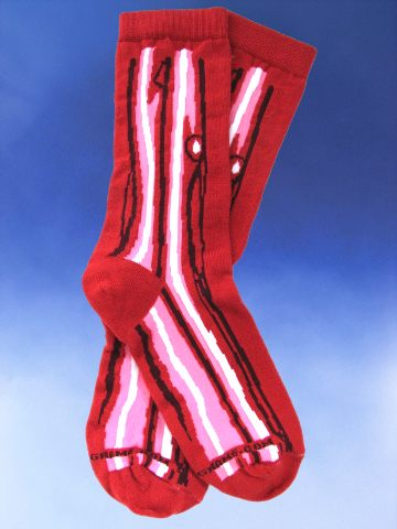 Bacon Socks - Click Image to Close