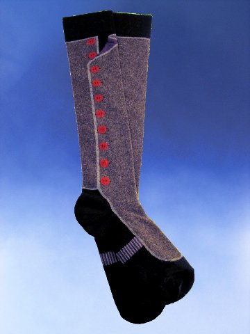 Angora Spats Socks - Click Image to Close