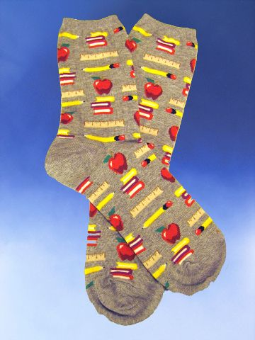 Teacher - Teacher Socks - Click Image to Close