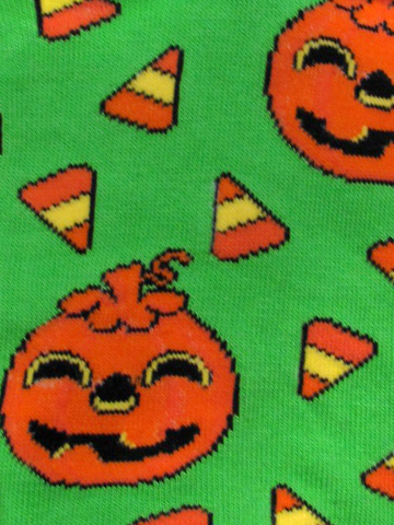 Candy Corn & Jack O Lanturns Socks - Click Image to Close