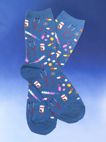 Prescription Cutie Socks - Click Image to Close