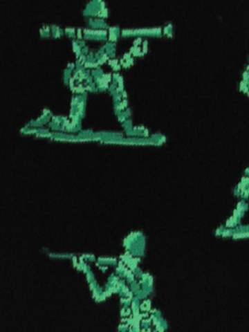 Men's Army Men Socks - Click Image to Close
