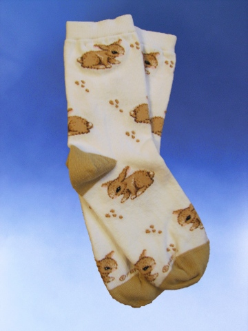 Children's Baby Bunny Socks - Click Image to Close