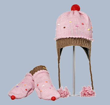 Cupcake Mitts - Click Image to Close