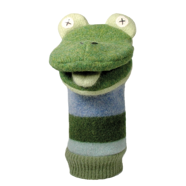 Froggie Puppet - Click Image to Close