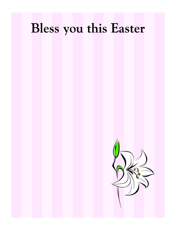 Bless You This Easter - Click Image to Close